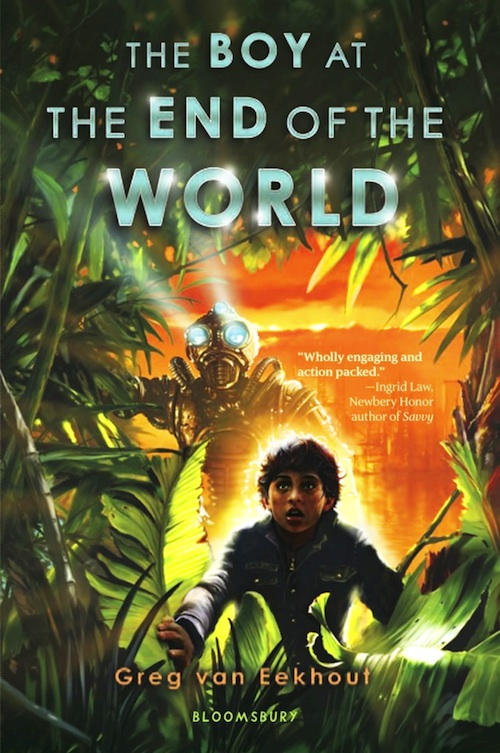 the boy at the end of the world greg van eekhout